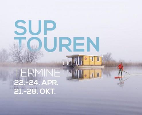 Wild East - SUP Touren