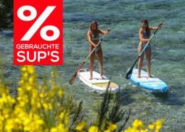 SUP Abverkauf - Gebrauchte Stand Up Paddle Boards