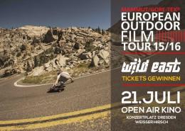 European Outdoor Film Tour - Tickets gewinnen bei Wild East