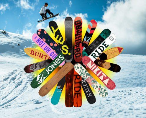 Snowboard Neuheiten 2016-2017 - Wild East Dresden