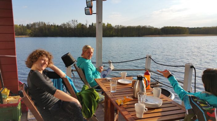 Breakfast - SUP Camp Wild East Dresden