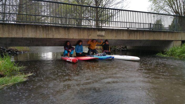 Regen SUP Camp Wild East Dresden