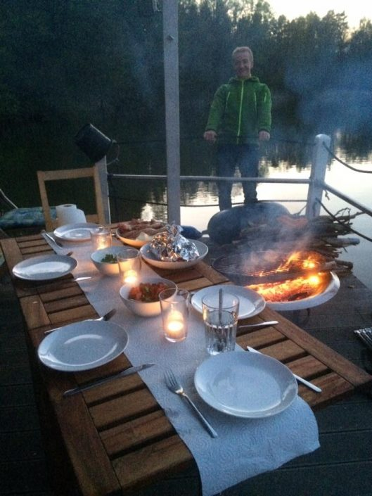Sup Dinner - SUP Camp Wild East Dresden