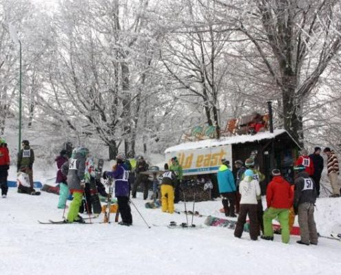 Snowboard & Freeski Contest im Erzgebirge - Wild East