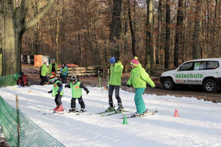 Ski fahren lernen in Dresden - Wild East Ski & Snowboard