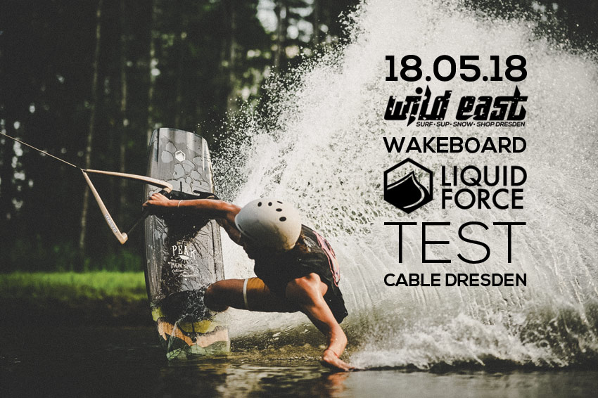 Liquid Force Wakeboard Test